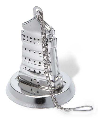 """Tee-Ei """"Leuchtturm"""" mit Absetzplatte"""