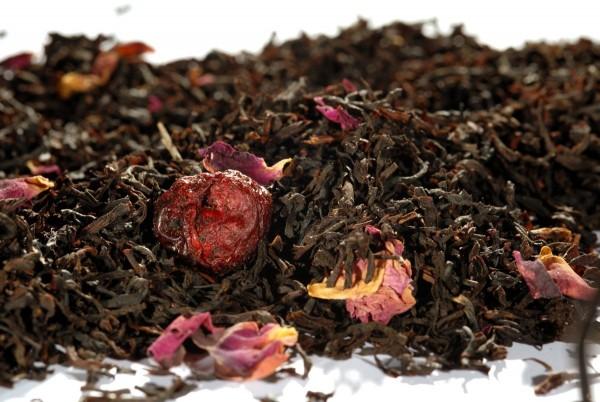 Quertee® - Schwarzer Tee - Wildkirsche