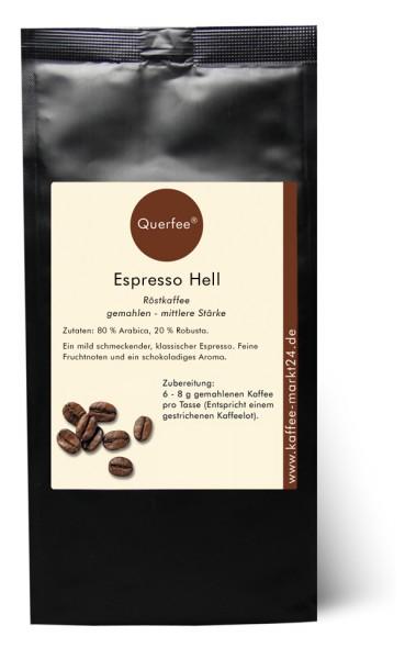 Espresso hell - Ganze Bohne