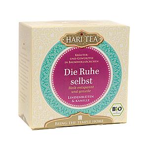 Hari Tee - Die Ruhe selbst