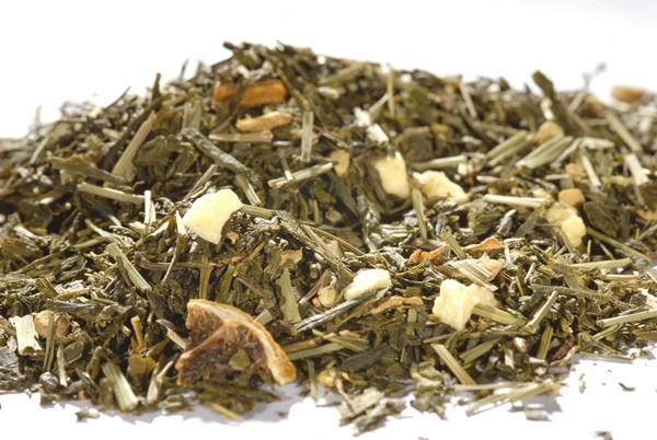 "Grüner Tee - Sencha - ""Ingwer Zitrone"""