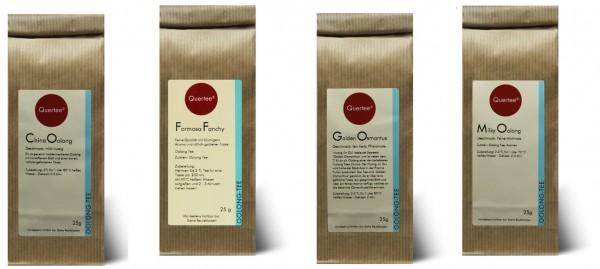 Probierset Oolong Tee Quertee® Nr. 9 - 4 x 25 g