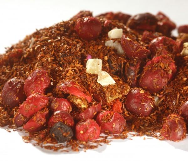 Rotbuschtee - Goji - Cranberry - Granatapfel