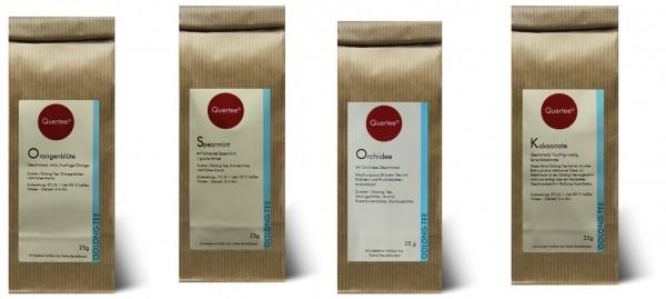 Probierset Oolong Tee Quertee® Nr. 8 - 4 x 25 g