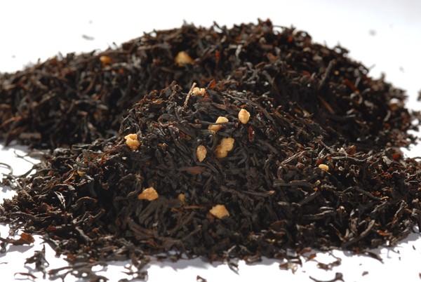 "Schwarzer Tee - ""Sahne Krokant"""