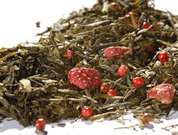 Quertee® - Grüner Tee - Sencha Ginkgo Poesie