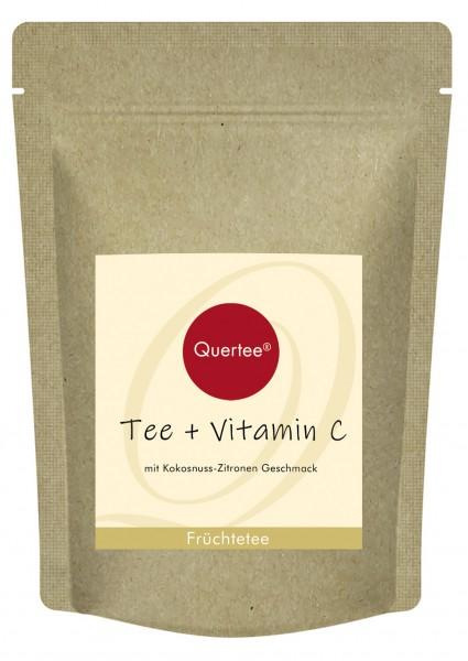 Tee plus Vitamin C - Früchtetee mit Kokos-Zitrone Geschmack plus Vitamin C