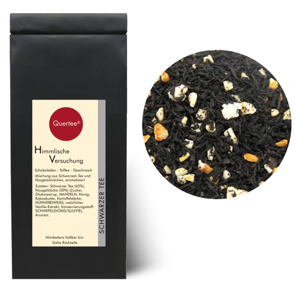 """Schwarzer Tee - """"Himmlische Versuchung"""""""