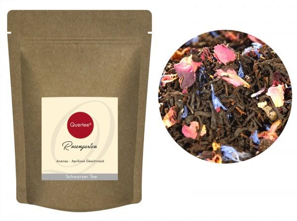 """Schwarzer Tee - """"Rosengarten"""""""