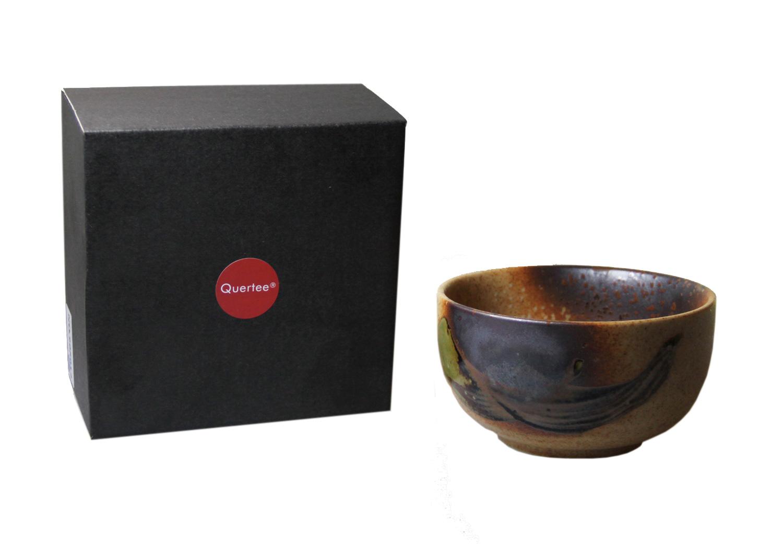 Quertee® - Original japanische Matcha Schale - 400 ml in einer Geschenkbox