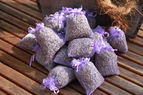 Lavendelsäckchen mit Bio - Lavendel aus Frankreich