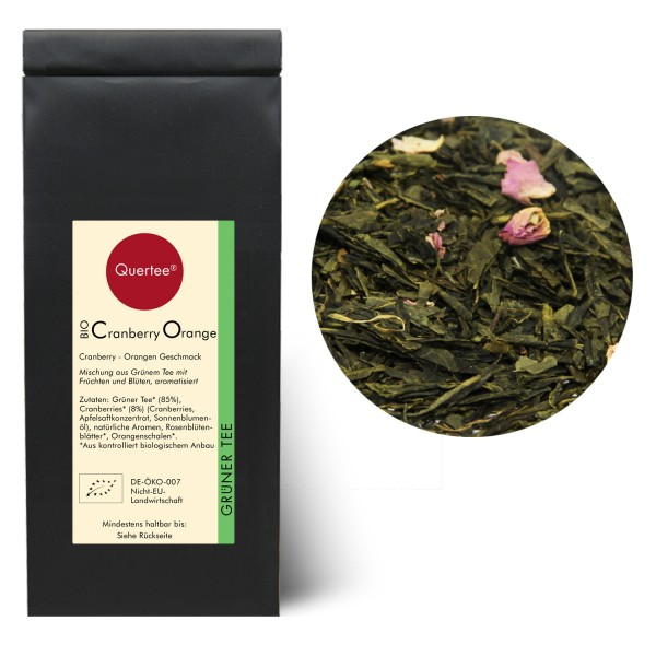 "Bio - Grüner Tee - Sencha ""Cranberry Orange"""