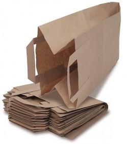 40 x Bioabfalltüten mit Henkel und Rollboden - 9,5 l