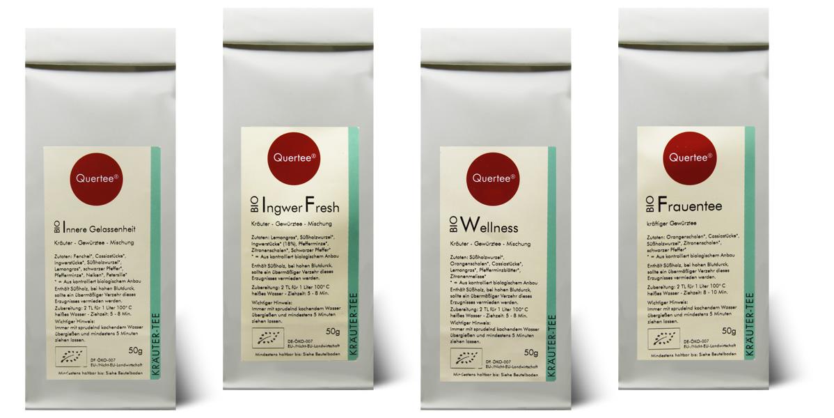 Ayuvitalischer Tee Quertee® Nr. 11 - Wellness Set für Frauen
