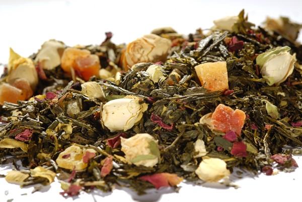 """Grüner Tee - Sencha """"Tropengarten"""""""