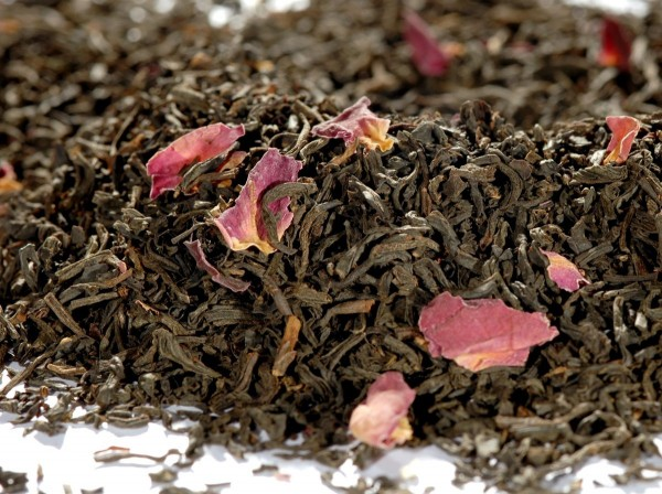 Quertee® - Grüner Tee - Sencha Rosengarten