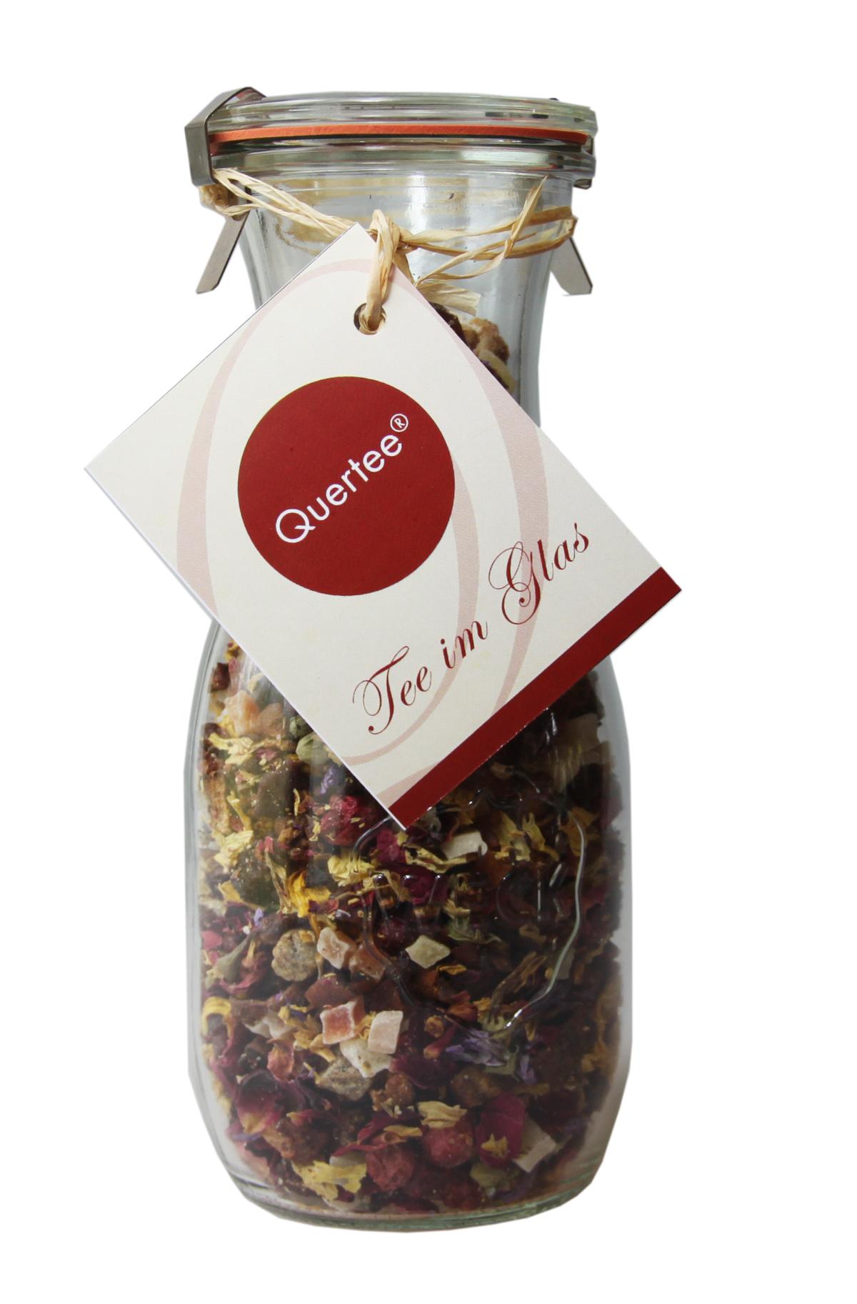 Tee im Glas - Früchtetee zum Muttertag