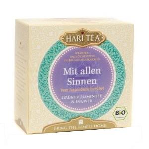 Biotee Hari Tee - Mit allen Sinnen - 10 x 2g Teebeutel (20 g)
