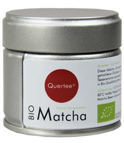 Japan Original  Matcha - Bio - 30g Dose von Quertee®