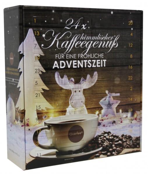 Kaffee Adventskalender mit 24 x verschiedener Kaffee - Nicht aromatisiert