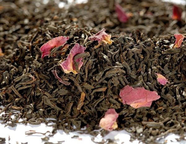 Quertee® - Schwarzer Tee - China Rosentee