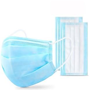 Gesichtsmaske Einwegmaske Mundschutz Ohrschlaufe,3-lagig