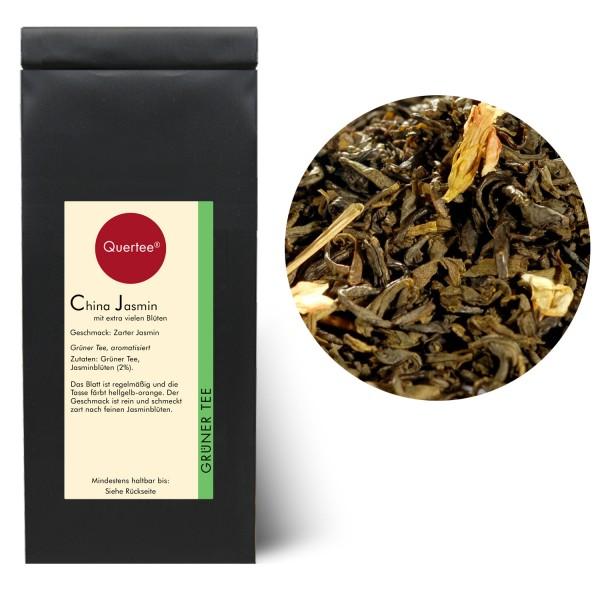 Grüner Tee - China Jasmin mit extra vielen Blüten