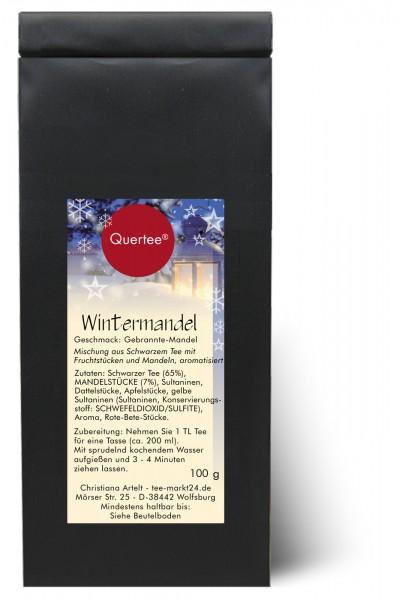 """Weihnachtstee """"Wintermandel"""" - Schwarzer Tee zu Weihnachten und in der Winterzeit"""