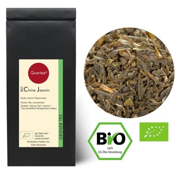 Bio - Grüner Tee - China Jasmin - Zarter Jasmin Geschmack