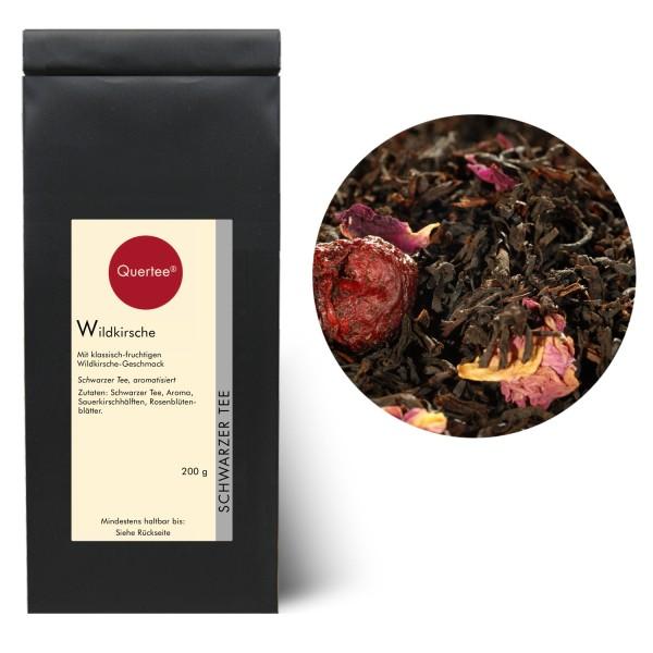 """Schwarzer Tee """"Wildkirsche"""" - Mit fruchtigem Wildkirsche Geschmack"""
