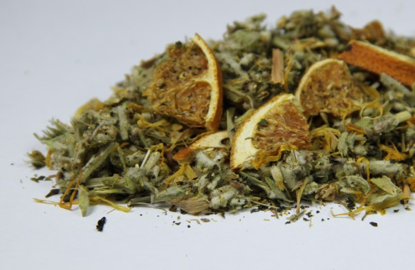 Griechischer Bergtee - Orange - Sideritis scardica - Griechisches Eisenkraut - Bio