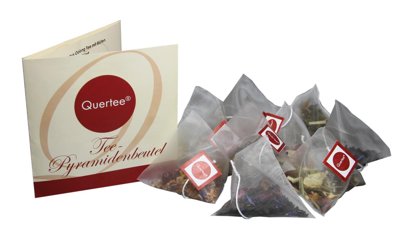 24 x Tee Pyramidenbeutel mit 6 verschiedenen Teesorten